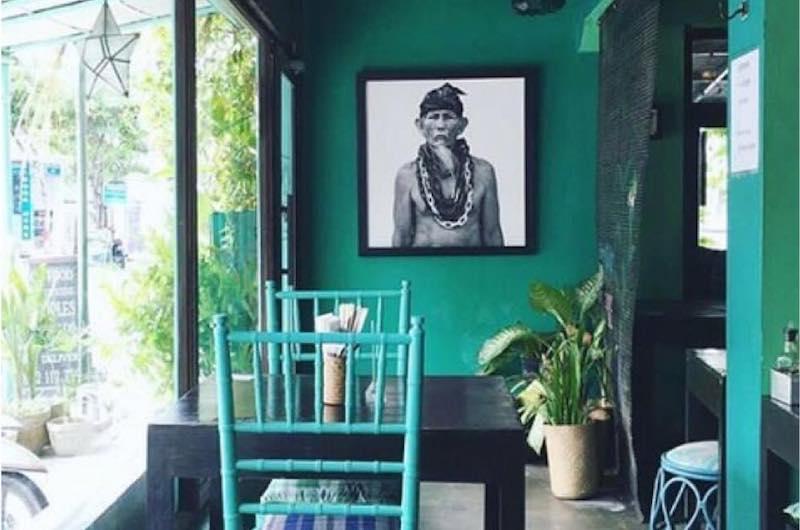 Bali Canggu Green Ginger Noodle House Decor
