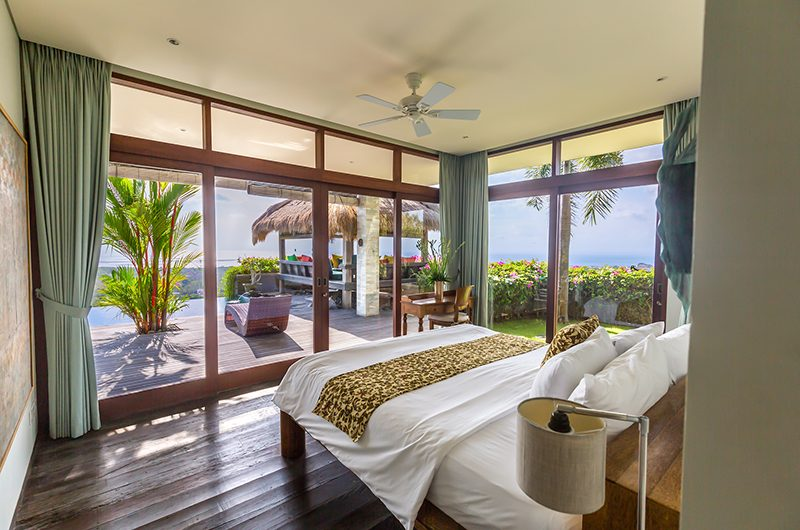 Hidden Hills Villas Villa Raja Bedroom with Pool View | Uluwatu, Bali