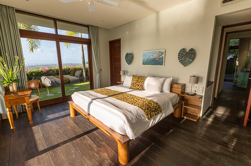 Hidden Hills Villas Villa Raja Bedroom with Garden View | Uluwatu, Bali