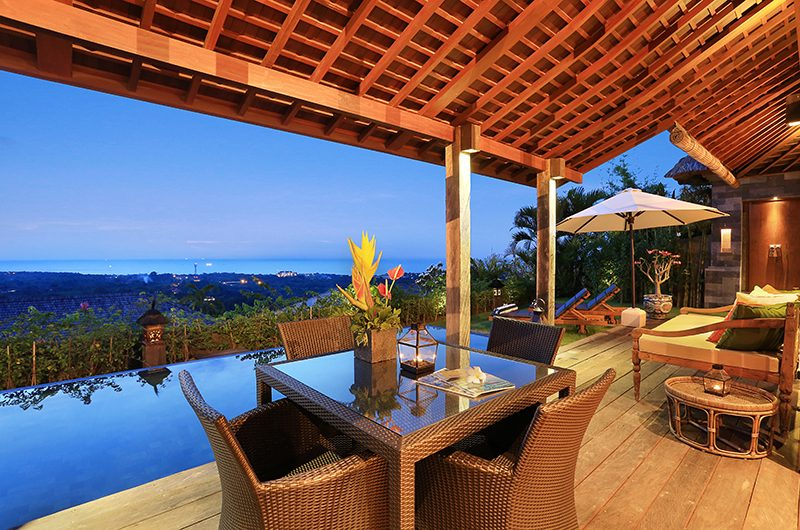 Hidden Hills Villas Villa Sekapa Dining Table | Uluwatu, Bali