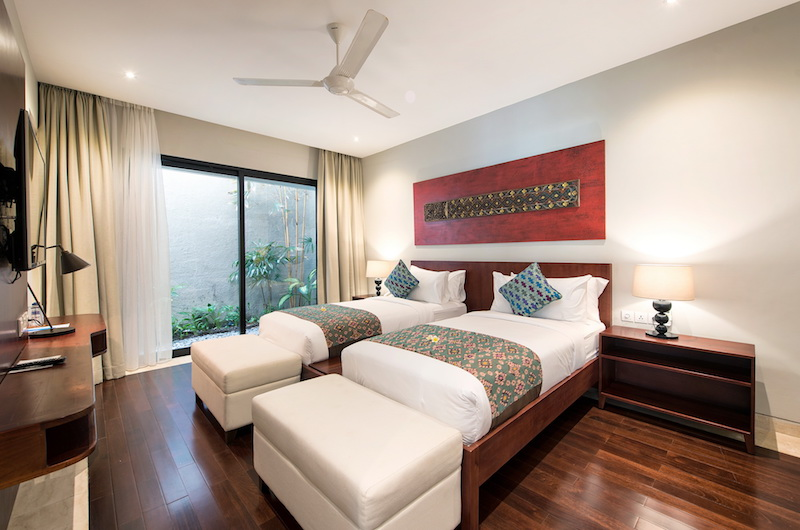 Villa Dewi Lanjar Twin Bedroom Area | Ungasan, Bali