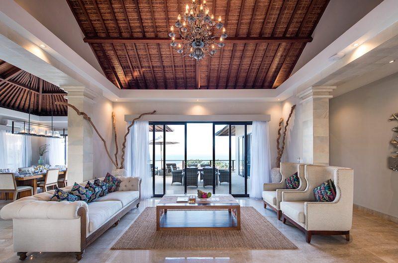 Villa Dewi Lanjar Living Room | Ungasan, Bali