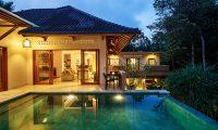 Villa Kembar Night View Pool | Ubud, Bali