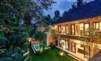 Villa Kembar Night View Building | Ubud, Bali