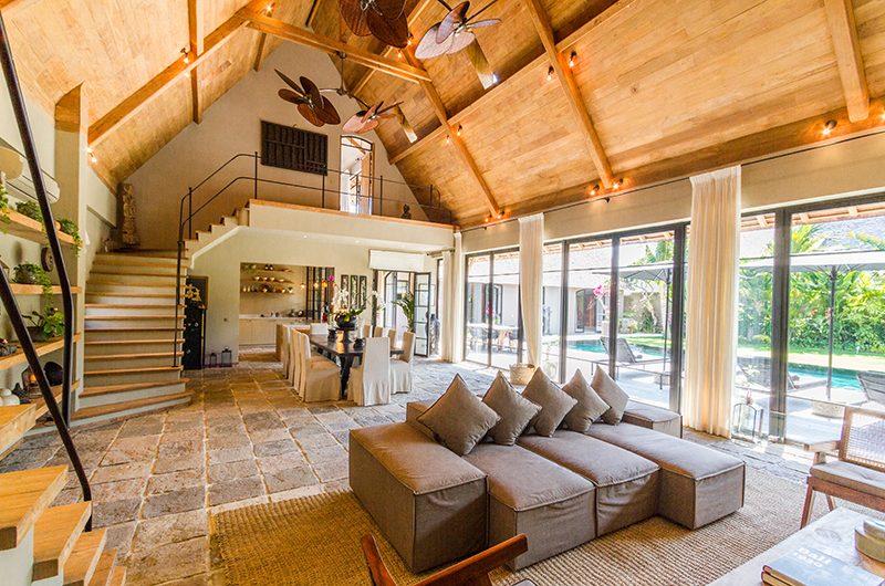 Villa Nehal Living Room | Umalas, Bali