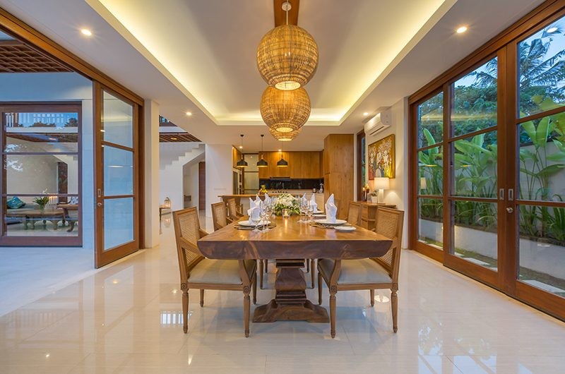 Villa Rusa Biru Dining Area | Canggu, Bali