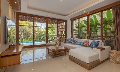 Villa Rusa Biru Media Room | Canggu, Bali