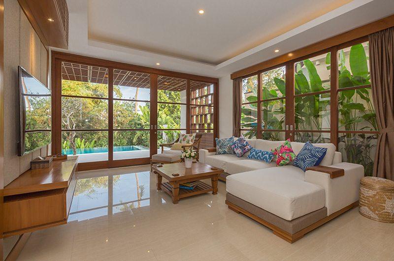 Villa Rusa Biru Media Room   Canggu, Bali