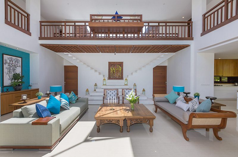 Villa Rusa Biru Living Room | Canggu, Bali