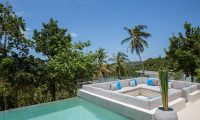 Azure Waters Lounge Area | Maenam, Koh Samui