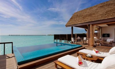 Hideaway Beach Resort Pool with Sea View | Haa Alifu Atoll, Maldives
