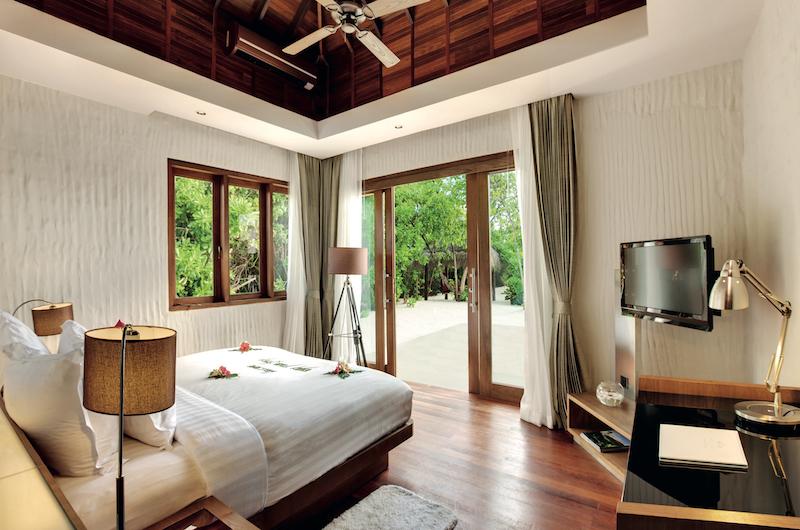 Hideaway Beach Resort Bedroom Area | Haa Alifu Atoll, Maldives