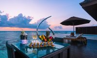 Lily Beach Resort Dining Table | South Ari Atoll, Maldives