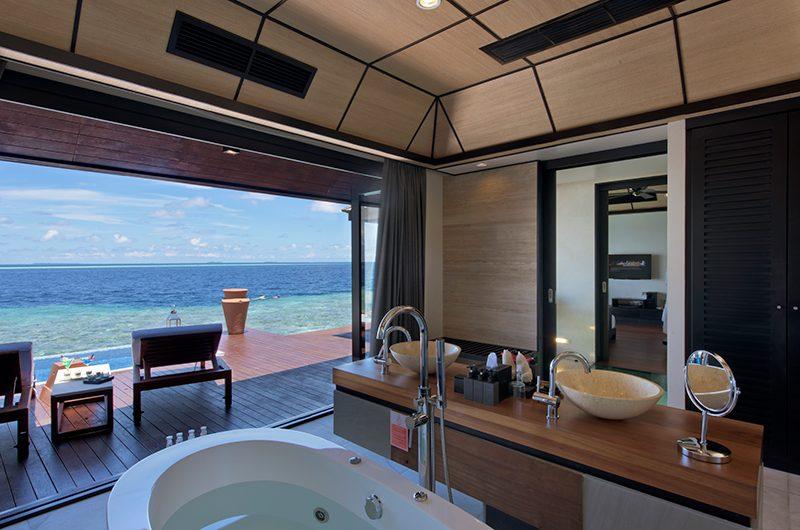 Lily Beach Resort Indoor Bathtub | South Ari Atoll, Maldives
