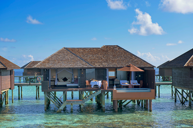 Lily Beach Resort Outdoor Dining | South Ari Atoll, Maldives