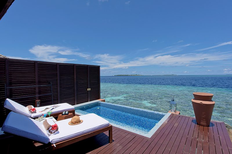Lily Beach Resort Jacuzzi | South Ari Atoll, Maldives
