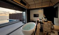 Lily Beach Resort Open Plan Bathtub | South Ari Atoll, Maldives