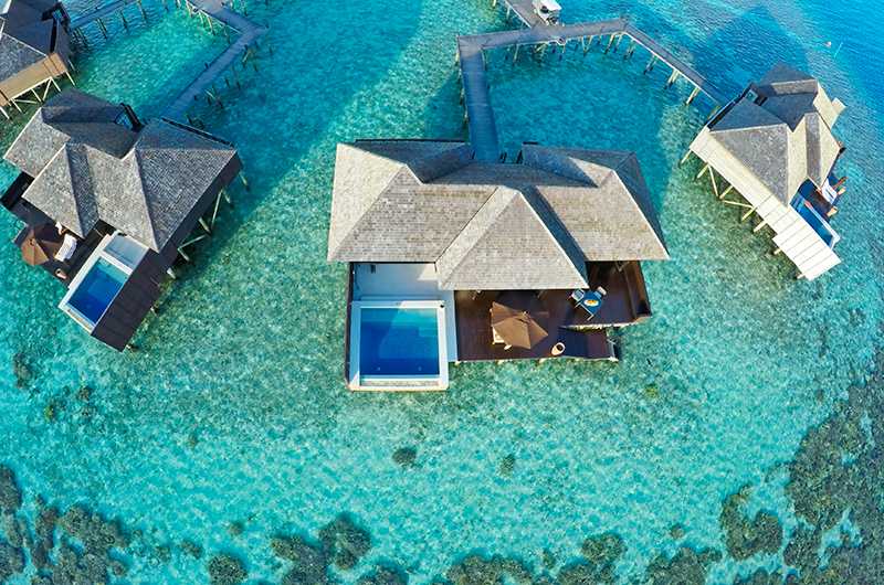 Lily Beach Resort Building Area | South Ari Atoll, Maldives