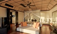 Lily Beach Resort Bedroom Area | South Ari Atoll, Maldives