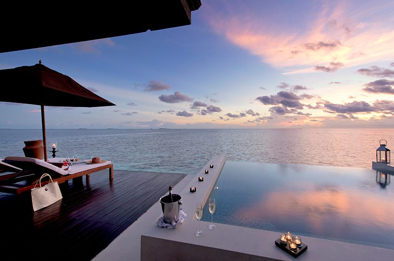 Lily Beach Resort Pool Side | South Ari Atoll, Maldives