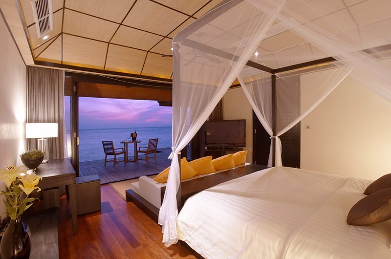 Lily Beach Resort Bedroom | South Ari Atoll, Maldives