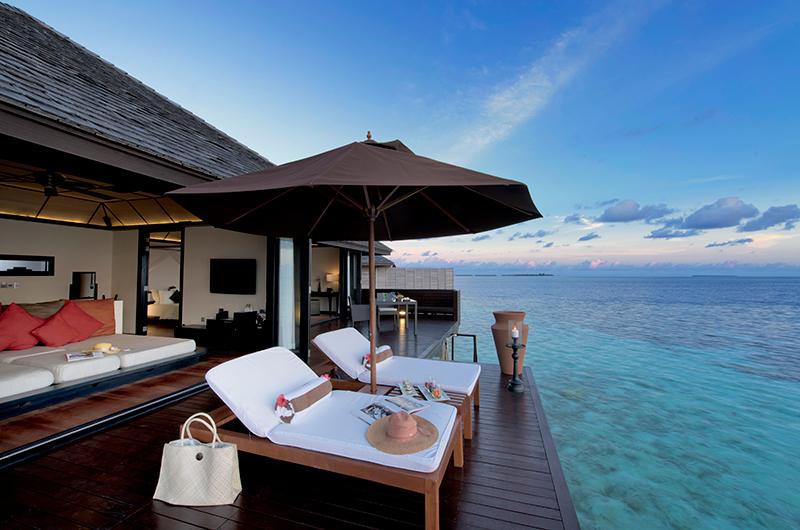 Lily Beach Resort Sun Decks | South Ari Atoll, Maldives