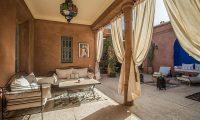 Villa Dar Tana Seating | Marrakesh, Morocco