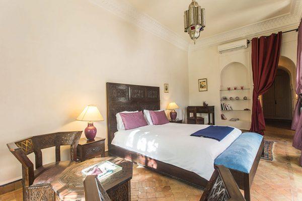 Villa Dar Tana Bedroom with Seating | Marrakesh, Morocco