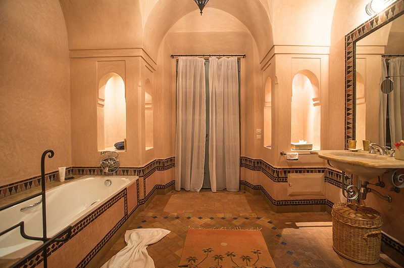 Villa Dar Tana Bathtub Area | Marrakesh, Morocco