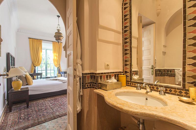 Villa Dar Tana Bedroom with Enclosed Bathroom | Marrakesh, Morocco