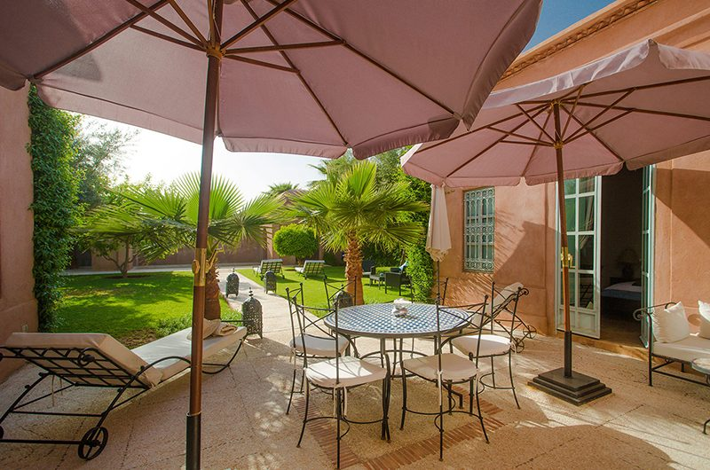 Villa Dar Tana Outside Seating | Marrakesh, Morocco