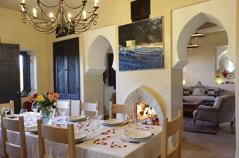Villa Domoliv Dining Area | Marrakesh, Morocco