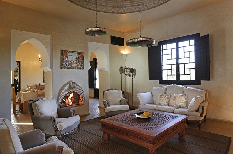 Villa Domoliv Living Area | Marrakesh, Morocco
