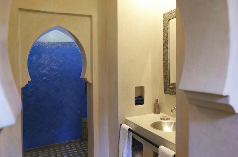 Villa Domoliv Bathroom Entrance | Marrakesh, Morocco