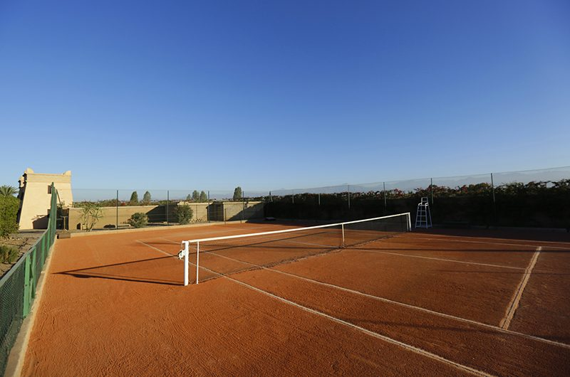 Villa Domoliv Tennis Field | Marrakesh, Morocco