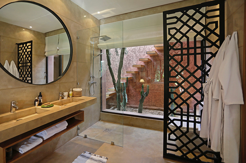 Villa Jardin Bathroom | Marrakesh, Morocco