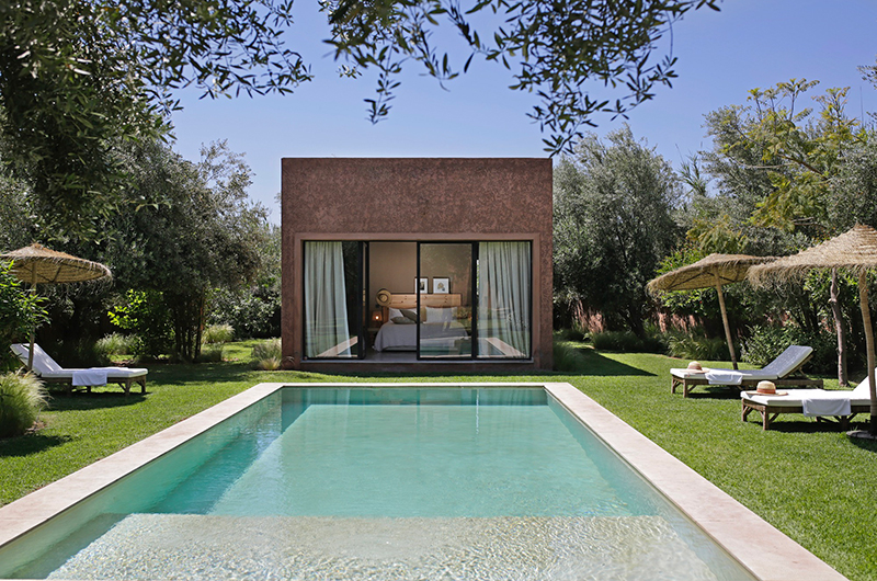 Villa Jardin Bleu Pool | Marrakesh, Morocco