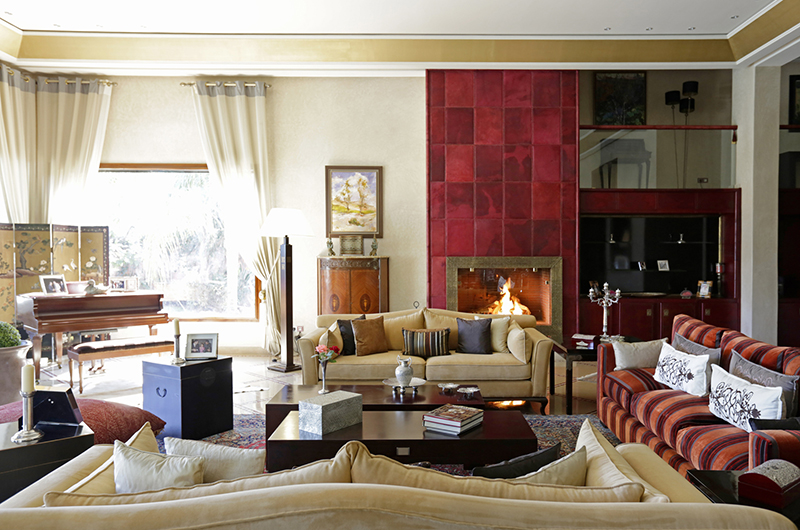 Villa Meziane Living Area | Marrakesh, Morocco