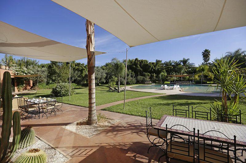 Villa Pars Outdoor Dining Area | Marrakesh, Morocco