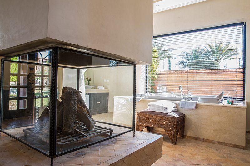 Villa Tika Bathtub Area   Marrakesh, Morocco