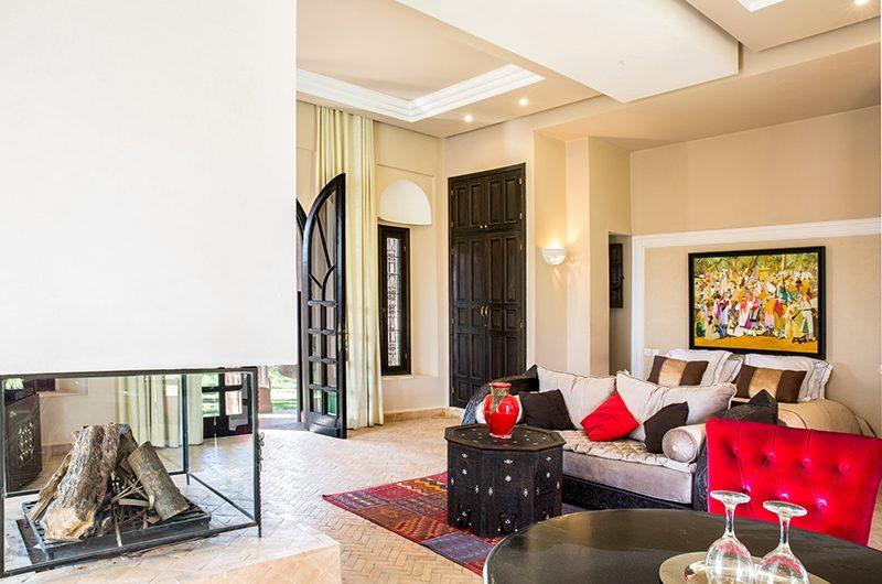 Villa Tika Fire Place   Marrakesh, Morocco