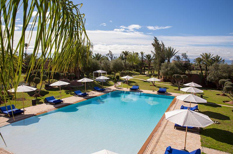 Villa Tika Swimming Pool   Marrakesh, Morocco