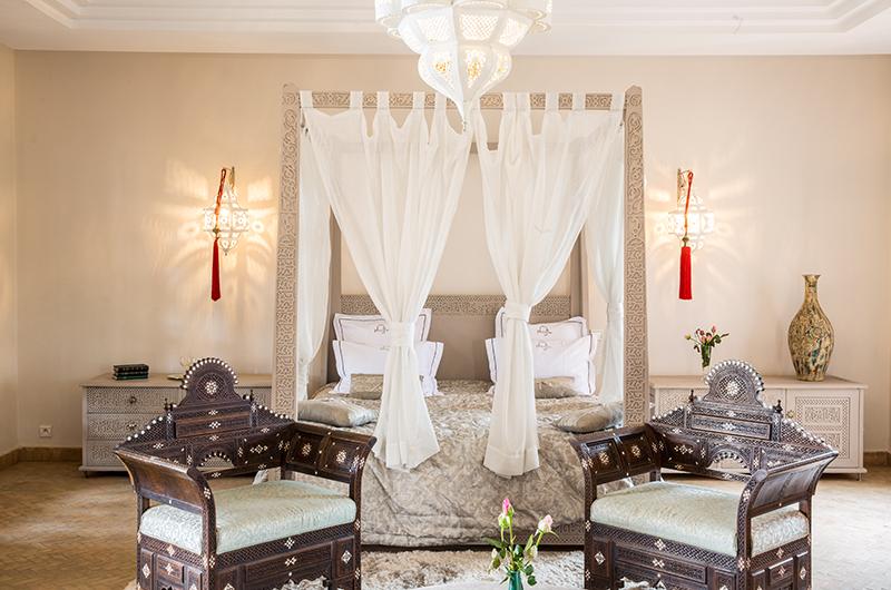Villa Tika Living Master Bedroom Side   Marrakesh, Morocco
