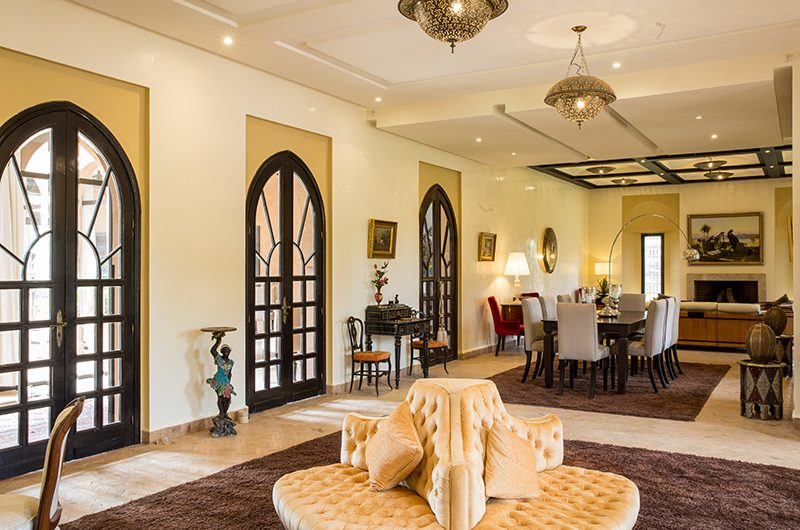 Villa Tika Living Room   Marrakesh, Morocco