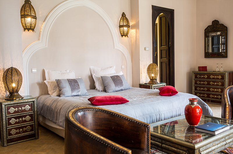 Villa Tika Bedroom with Seating | Marrakesh, Morocco