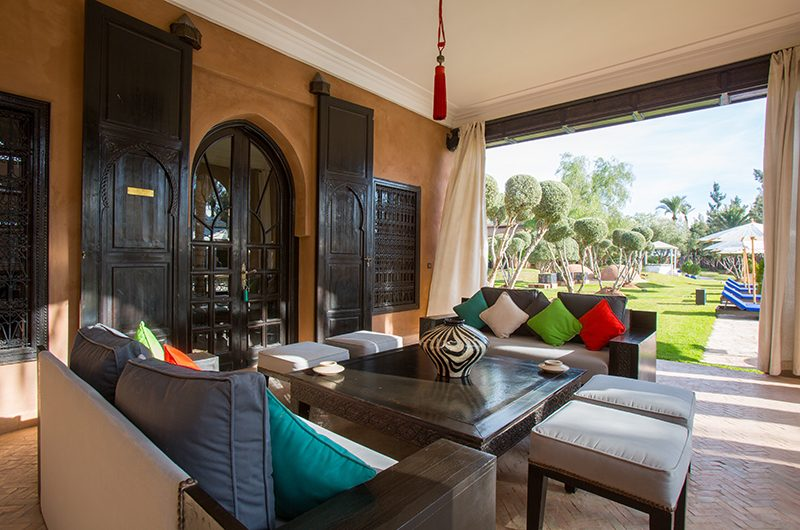 Villa Tika Open Plan Living Area | Marrakesh, Morocco