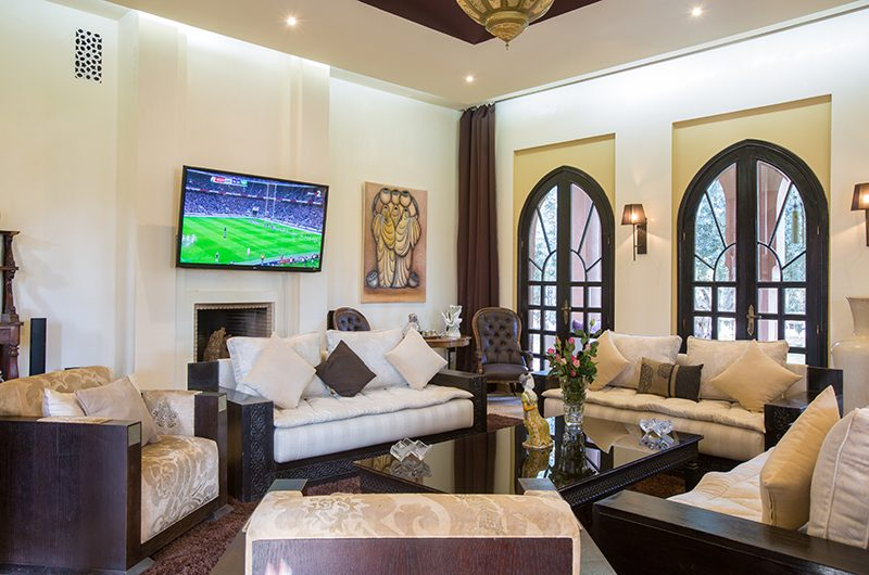 Villa Tika Living Room | Marrakesh, Morocco