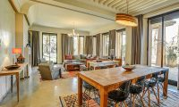 Villa Yenmoz Living and Dining Area | Marrakech, Morocco