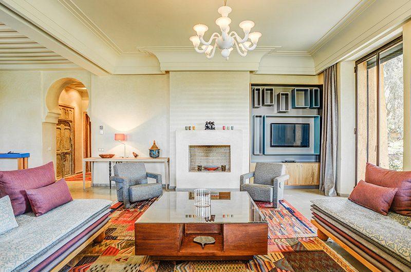 Villa Yenmoz Living Area | Marrakech, Morocco