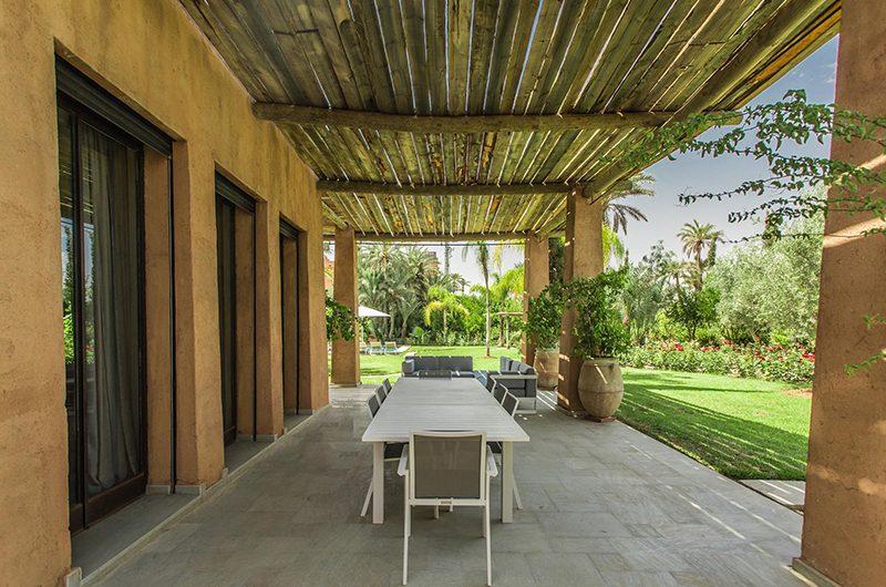 Villa Yenmoz Open Plan Dining Area | Marrakech, Morocco